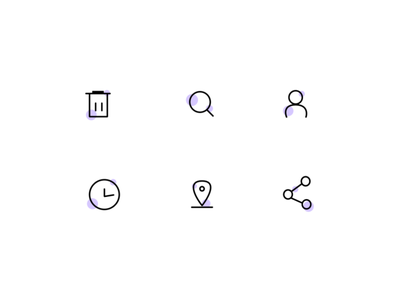 DailyUI 055 : Icons apps branding ui logo design user interface design ui ux design icons pack icons set icons iconset dailyuichallenge data dailyui