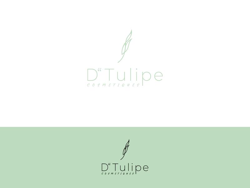 Dtulipe tulips beauty minimalism minimalist great logo luxury design luxury brand luxury logo cosmetics cosmetic graphic graphicdesign logodesign flat minimal illustration branding logo design art