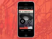 Cassette Player App Concept