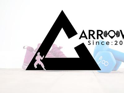 Arrows branding icon vector illustration logo