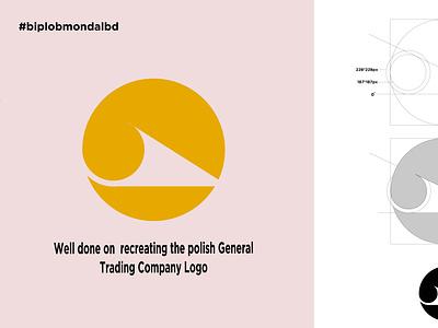 Circle minimal typography artist icon vector design illustration artwork art logo