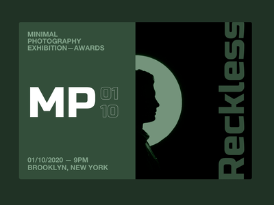 Minimal Photography Exhibition, Landing Website Animation minimal motion design web design gallery ticket blog ecommerce landing photograhy principle app animation motion principle branding typography website web ux ui design