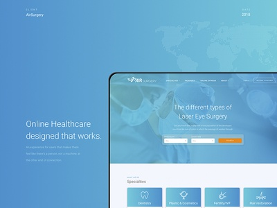 Online Healthcare designed that works