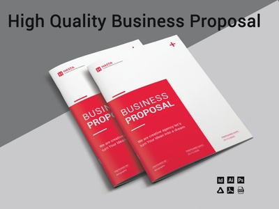 Business Proposal illustration ux brochure design ui business profile business proposal banner design white paper businesscard brand identity