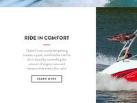 Ride in Comfort