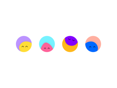 Happy blobs