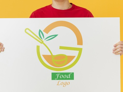 food  logo logo illustration