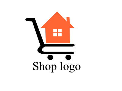 simple  shop  logo logo illustration