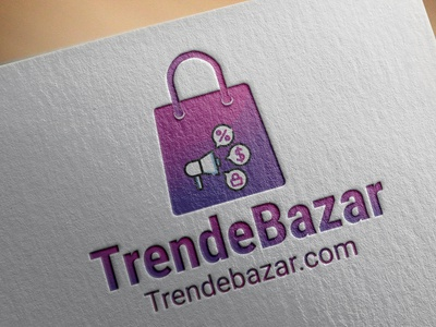 ecommerce typography design logo illustration