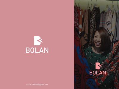 Bolan Fashion Brand Logo! logo design top branding brand identity fashion design modern style dribbble logo logo design fashion fashion logo