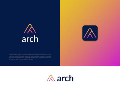 Modern A letter Logo> letter a graphic design branding company logo business logo uiux letter a a logo gradient logo logo modern logo logo designer