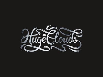 HugeClouds vape cloud lettering shop cigarette smoke