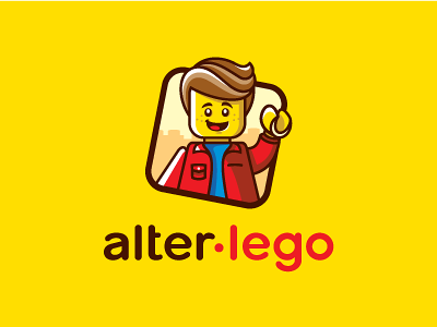 alter lego man toy city design logo lego alter