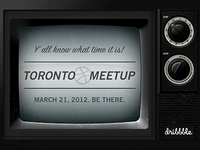 Toronto Dribbble Meetup - March 21