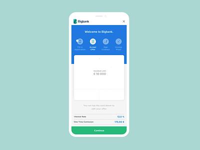 Loan application and loan management onboarding onboarding application animation gif dashboard financial wallet banking fintech bank loan calculator loans loan