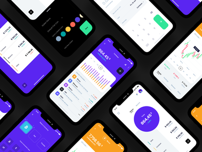 Crypto portfolio manager UX/UI map bitcoin graph dark ui figma ux cards transfer banking bank dashboad app financial finance fintech app fintech wallet exchange cryptocurrency crypto wallet crypto