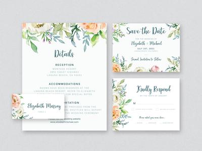 Wedding Collateral wedding invitations