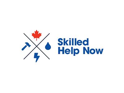 Skilled Help Now logo design logo