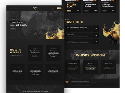 WhiskyFreaks webdesigner web design