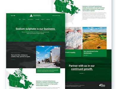 Saskatchewan Mining & Mineral mining industrial canadian designer canada saskatchewan green website design industrial design