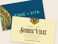 Esme Sita Business Cards
