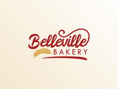 Belleville Bakery Logo bakery logo mark logo designer logo design