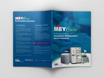 MEYCare Brochure Exterior print designer brochure designer brochure design brochure