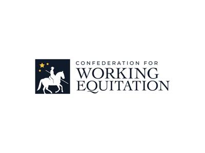 Confederation for Working Equitation logo design branding equine equine design equitation logo designer logo design