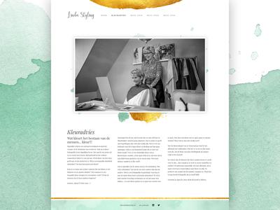 LindaStyling.nl web designer website design website designer web design