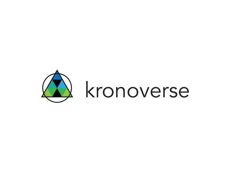 Kronoverse logo designer logo design concept logodesign