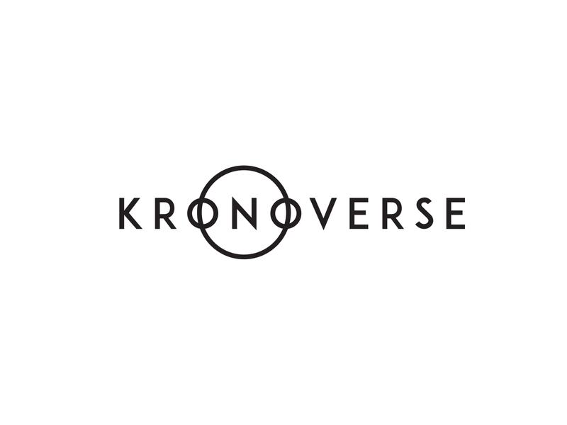 Kronoverse logo design concept logo designer logo design