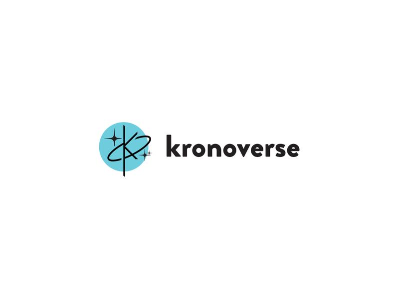 Kronoverse logo design concept logo designer