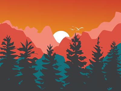 The sunshine ♥ branding artwork ilustrator flat design animation flat vector illustration minimal designer design graphic design