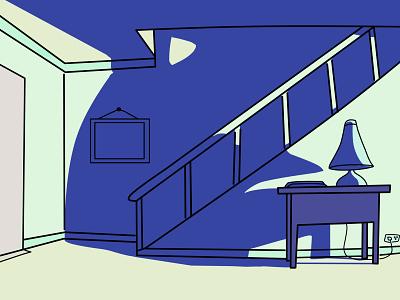 Lonely :( digitalart lineart flat design ilustrator animation flat illustration minimal designer design graphic design