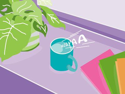 Relaxation design flat vector illustration minimal designer ilustrator flat illustration flatdesign graphic design