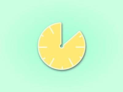 Daily UI 14 - Countdown graphic lemon countdown timer countdown daily ui challenge dailyui 014 dailyui