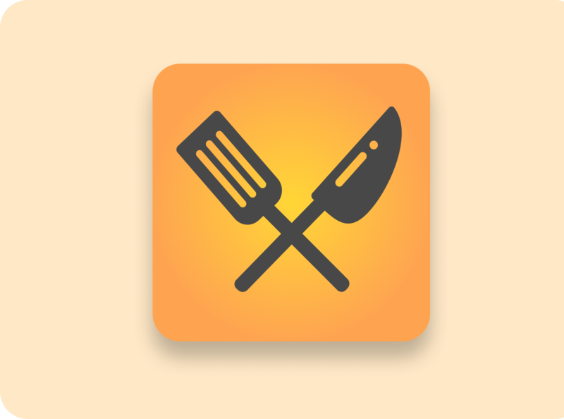 Daily UI 5 - Icon icons dailyui 005 appicon cook food dailyui icon