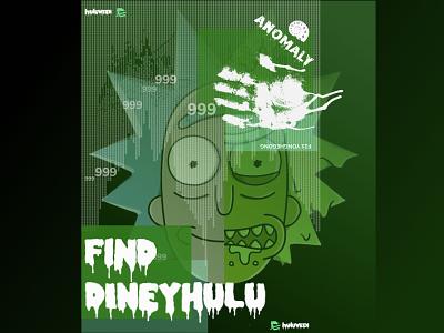 halloween poster design blood treasure hunt halloween design rick and morty rickandmorty rick poster halloween