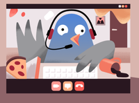 Pablo the Newsletter Pigeon