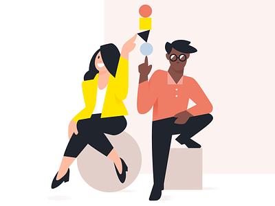 Syllabs — Visual Universe collaboration team characters brand illustration illustration