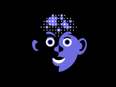 Neuroportraits illustration intelligence brain face neurology character neurodiversity portrait