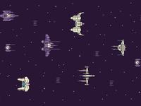Spaceships 2880 x 1800 2x