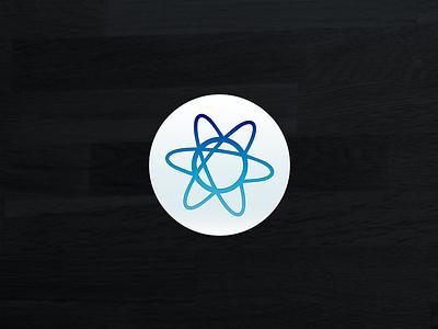 Atom Icon atom icon os x replacement dock