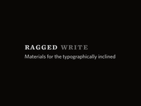 Ragged Write