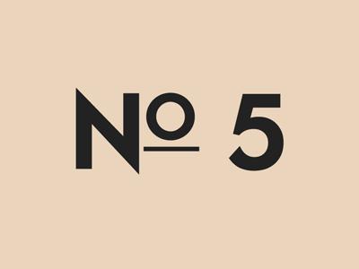 No.5 by Daniel Eden on Dribbble