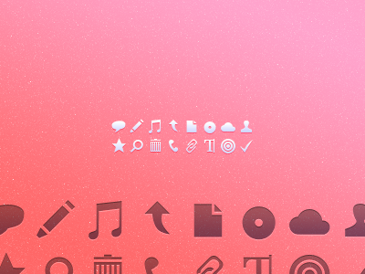 A free tiny set of tiny icons icons web freebie simple vector shapes