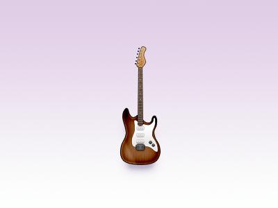 Icon Battle #5 - Guitar rebound fender stratocaster sunburst icon guitar icon battle