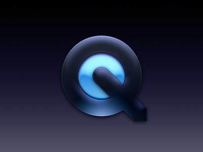 Quicktime practice freebie psd vector layer styles quicktime apple icon