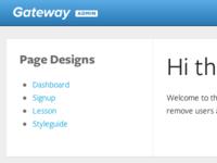 Gateway Admin