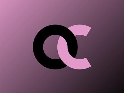 OC LOGO ZOOM vector icon flat logo brand identity minimal illustration typography graphic design branding